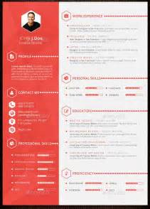 resume template design 10 design savvy that will redesign your resume for
