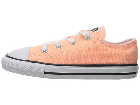 Convers Tanggal Orange 1 converse chuck all ox infant toddler at zappos