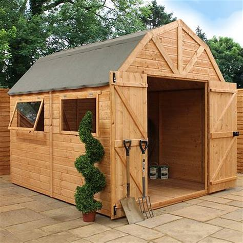 10 x 8 waltons barn tongue and groove apex garden
