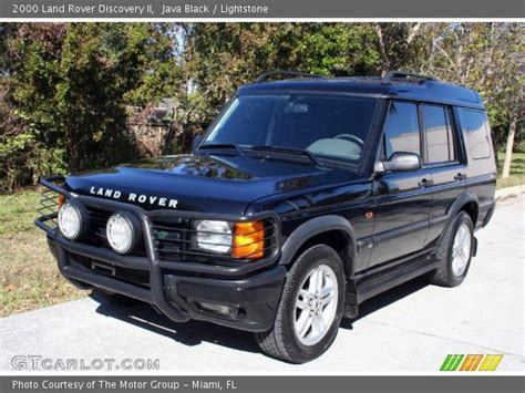 2000 land rover discovery interior java black 2000 land rover discovery ii lightstone