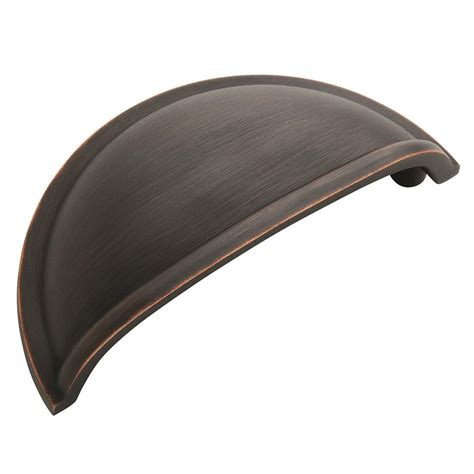 cabinet cup pulls rubbed bronze amerock decorative cabinet and bath hardware bp53010orb