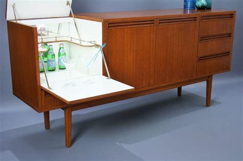 mid century recliner ebay mid century wrightbilt sideboard buffet teak cabinet