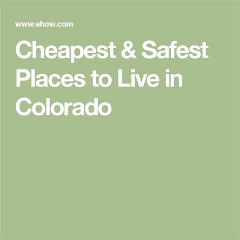 Cheapest Safest Places To Live | 37 best images about vacation or relocation on pinterest