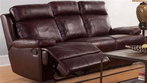 burgundy reclining sofa mansfield burgundy power reclining sofa l6807 30p bbr