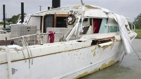 damaged boats for sale florida damaged boats in port lavaca youtube