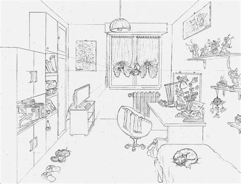 draw a room my room by giulal on deviantart