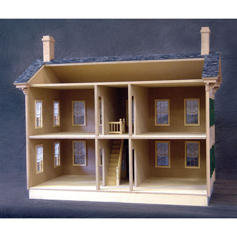 realistic doll houses lincoln springfield dollhouse real good toys free shipping discount doll house
