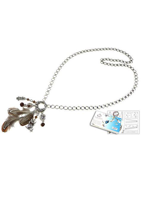 swarovski jewelry kits doublebeads jewelry kit mystic forest owl necklace 177 85cm