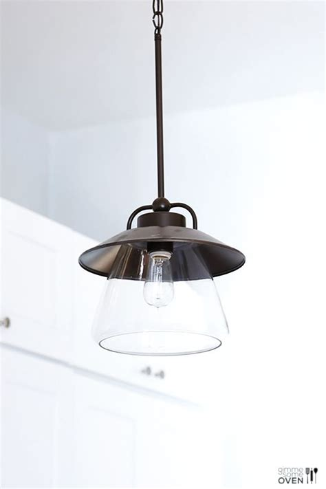 Kitchen Remodel Lighting And Flooring From Lowe S Bronze Bronze Pendant Lighting Kitchen