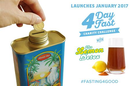 Charity Detox by Fasting 4 Charity Challengethe Lemon Detox