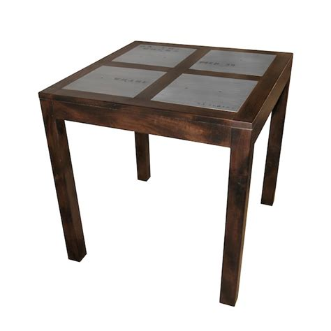 high dining table docker plate dining room