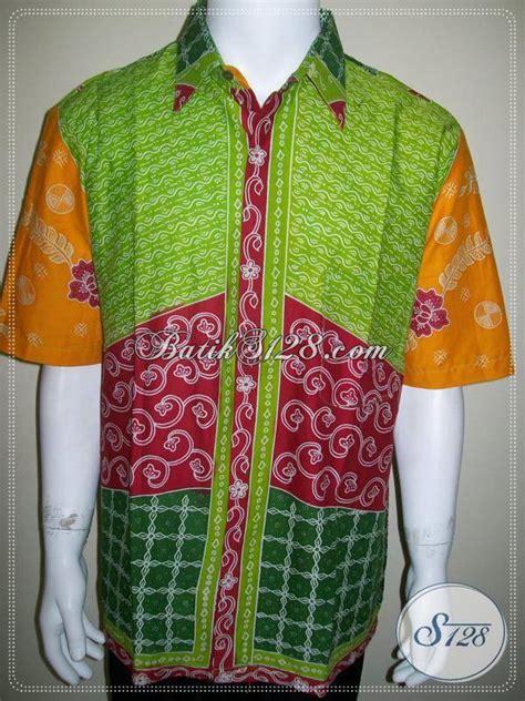 Kemeja Batik Sogan Milo kemeja batik warna warni motif milo sinar matahari ld525md xl toko batik 2018