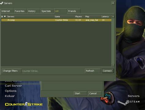 Cara Membuat Jaringan Lan Untuk Counter Strike   cara membuat server cs 1 6 di lan untuk bermain