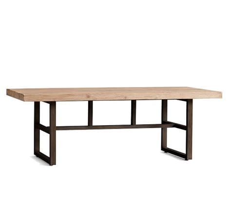 Pottery Barn Griffin Dining Table Griffin Reclaimed Wood Dining Table Pottery Barn