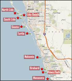 florida map sarasota sarasota county beaches 171 search for sarasota homes