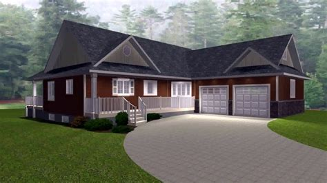 1 Story House Plans With Basement And Garage Youtube Luxamcc 1 5 Story House Plans With Walkout Basement