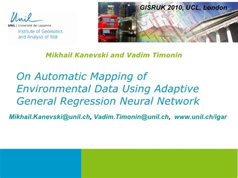 automatic mapping 9a 1 on automatic mapping of environmental data using