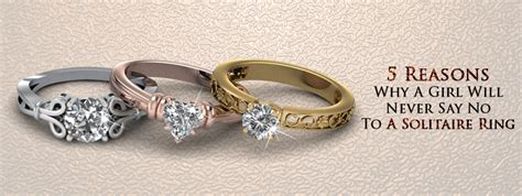 5 reasons why a will never say no to a solitaire ring