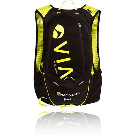 Wvn7 Bag Consina 10l 1 montane via jaws yellow black water resistant outdoors backpack rucksack bag 10l ebay