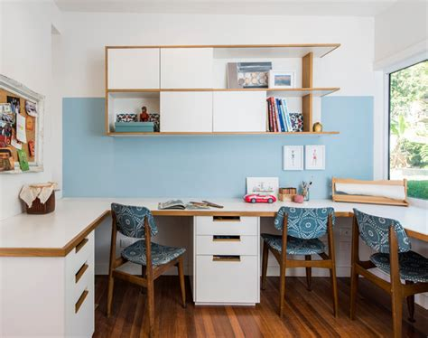 Home Office Design Adelaide Adelaide St House Contemporary Home Office Gold