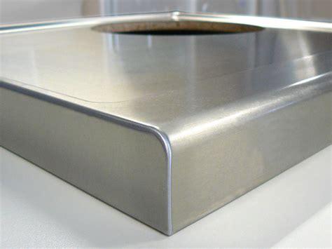 arbeitsplatte edelstahl edelstahl arbeitsplatte sp 252 le sp 252 lbecken abfallsystem