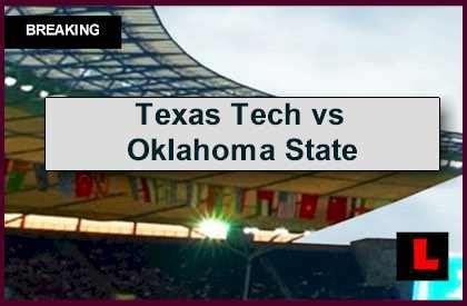 Tech Vs State Mba by Tech Vs Oklahoma State 2014 Score Ignites Ap Top 25