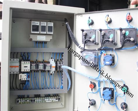 Saklar Otomatis Genset panel listrik dengan harga murah panel mdp panel pompa
