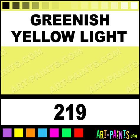 greenish yellow light expert acrylic paints 219 greenish yellow light paint greenish yellow