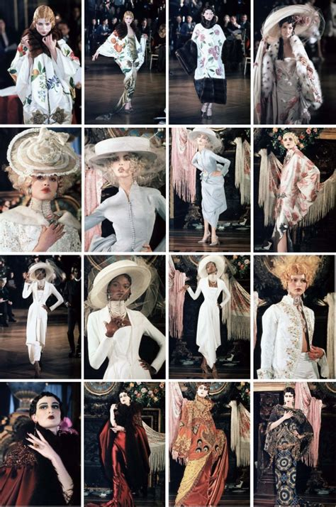 Aw08 With Gallianos by 1000 Images About Galliano On