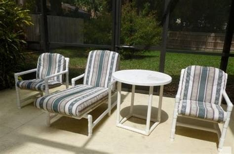pvc pipe outdoor furniture modern diy patio furniture ideas