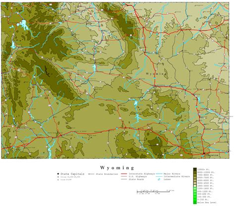 political map of wyoming political map of wyoming 28 images political map of