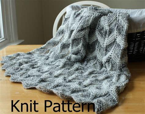 baby blankets knitted easy knit pattern baby blanket pattern easy ripple chevron