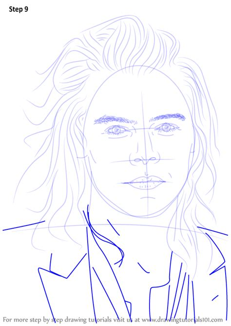 step by step hairstyles to draw step by step how to draw harry styles drawingtutorials101 com