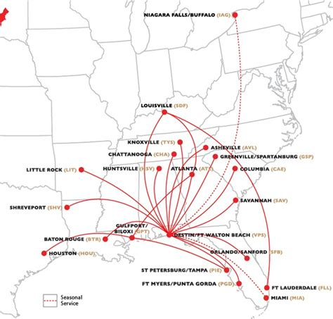 allegiant air route map vision airlines models itself on allegiant capa centre for aviation