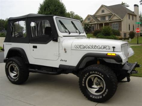jeep wrangler white 4 door lifted 1000 images about jeep wrangler yj 1987 1995 on pinterest