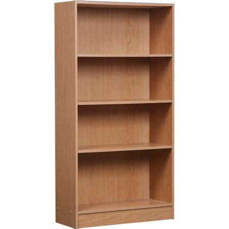 4 Shelf Bookcase by 4 Shelf Bookcase Finishes Walmart