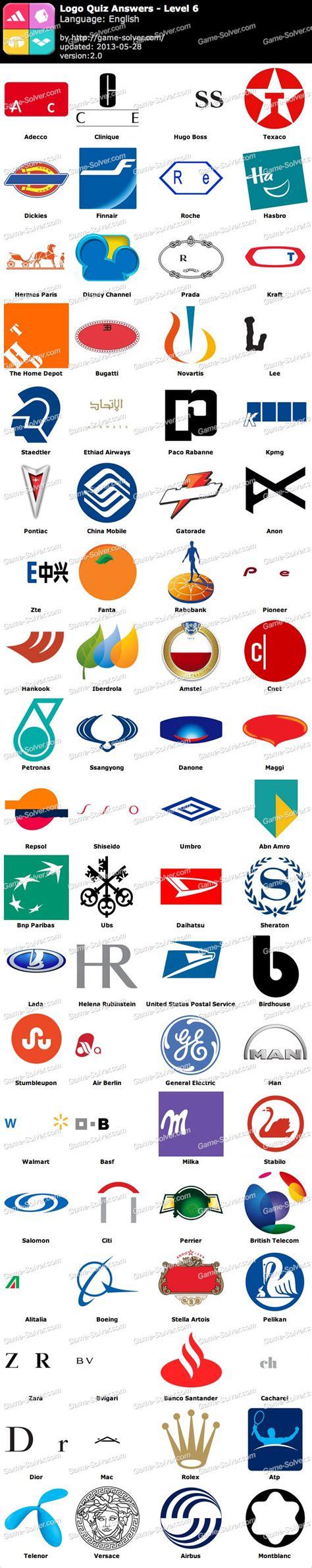 logo quiz level 6 by logo quiz level 6 solver