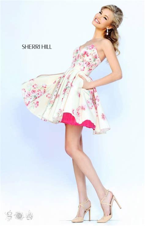 sherri hill  formal evening prom dress