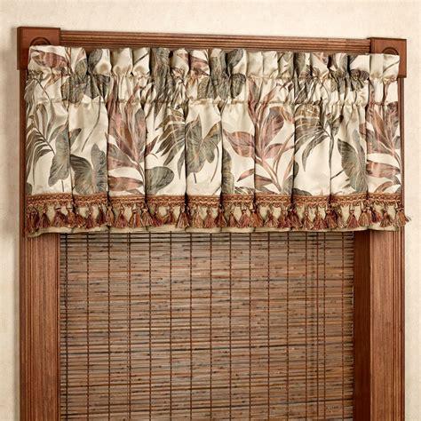 Bali Window Treatments Bali Palm Tropical Window Treatments By Croscill