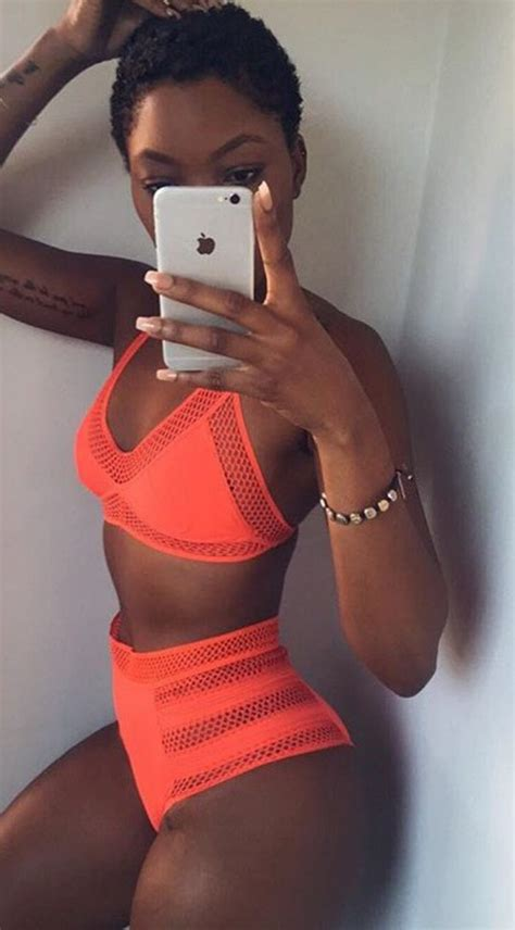 How To Make Up A Bed With A Duvet Swimwear Coral Dope Swimwear Black Girls Killin It