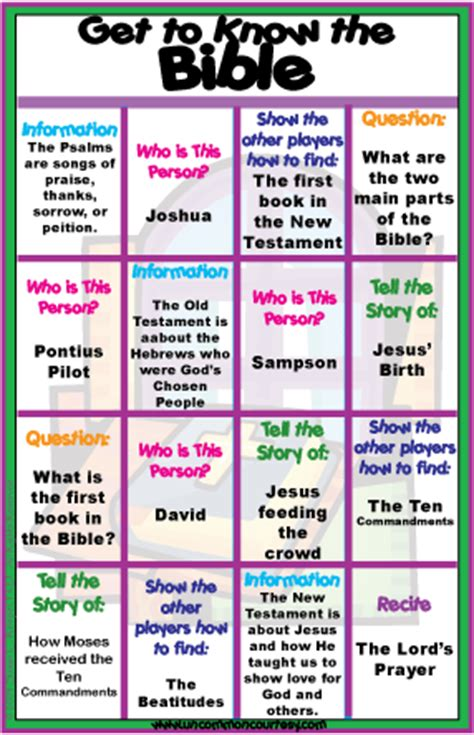 Catholic Home Decor by Bible Bingo Games Uncommon Courtesy