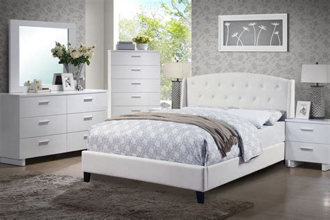 White Leather Bedroom Set Photos And Video White Leather Bedroom Furniture