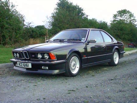 bmw m635csi 24 valve coupe sold 1986 car and classic
