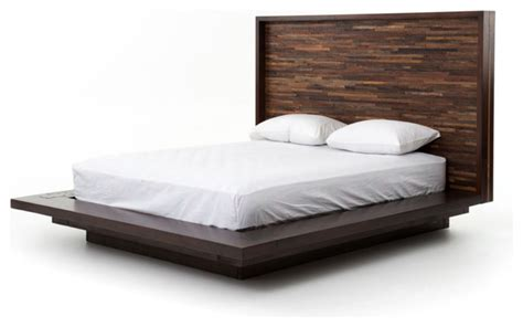 Parker Platform Bed, Queen   Contemporary   Platform Beds