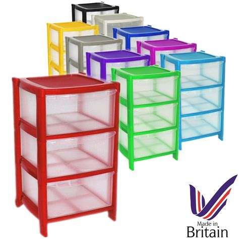 Plastic Drawer Units On Wheels by Plastic Large Tower Storage Drawers Chest Unit With Wheels