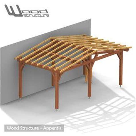 veranda bois en kit 846 1000 images about charpente bois on garage