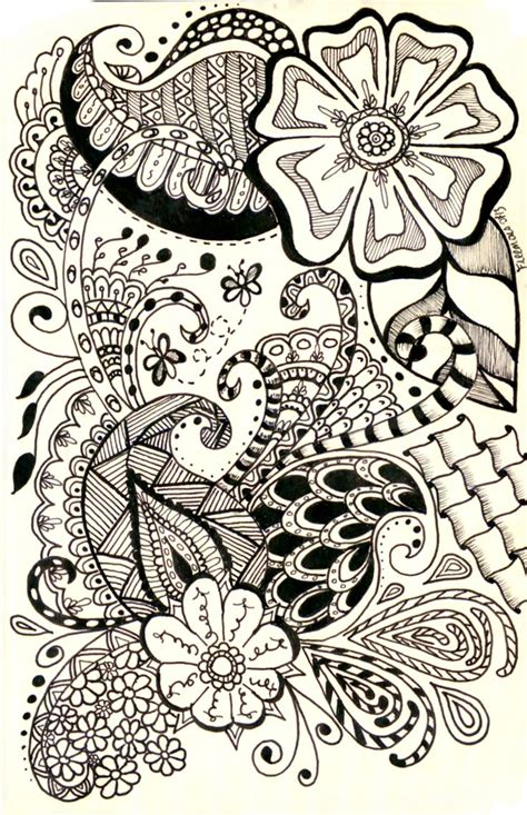 doodle ideas this is a really cool paisley design i came across