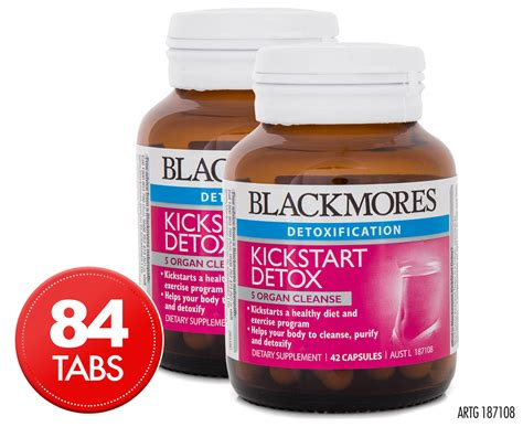 Detox Australia by 2 X Blackmores Kickstart Detox 42 Caps Great Daily Deals