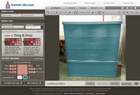 sherwin williams color visualizer tool pin by judy sumpter on furniture ideas pinterest