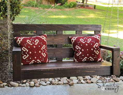 shanty 2 chic porch swing ana white shanty2chic porch swing diy projects